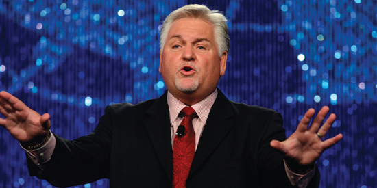 Steve Gilliland is one of the nation's most well-known motivational speakers