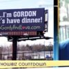 ENGLE SPENT 'A FEW THOUSAND' ON THIS DATING BILLBOARD BACK IN 2013
