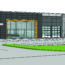 Rendering for the proposed LKN Chyrsler Dodge Jeep Showroom