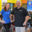 Grace Kennedy and Tom Kennedy, co-owners of Pedego Electric Bikes Lake Norman
